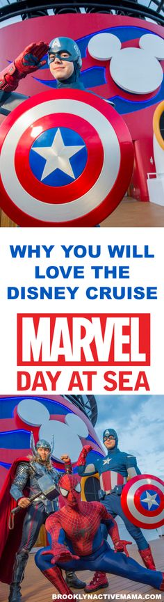 The Disney Cruise Marvel Day At Sea is setting sail January through March on select Disney Cruise Boats! If you have a Marvel fan in your household check out why this may be the best vacation cruise for you! Iron Man, Captain America, Thor, you name it Disney Cruise Tips, Disney Vacation Planning, Best Cruise, Walt Disney, Disney Money, Disney Fun, Disney Magic, Trip Planning, Cruise Boat
