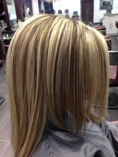 Blonde highlights by Kal Harris