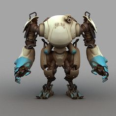 MECHA DESIGN + 3DPRINTS on Toy Design Served