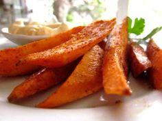 Sweet-Potato Buffalo Fries