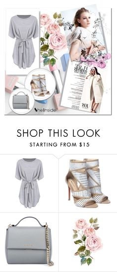 """Sheinside dress"" by nedim-848 ❤ liked on Polyvore featuring Givenchy, Sephora Collection and Karlsson"