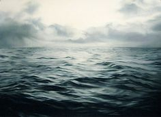 Drawings by Zaria Forman  Pastel drawings of seascapes.