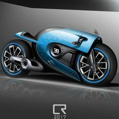 Motorcycle illustrations, drawings and projects - Cafe racers, scramblers and all around custom motorcycles Concept Motorcycles, Custom Motorcycles, Custom Bikes, Futuristic Motorcycle, Futuristic Cars, Bobber Motorcycle, Moto Bike, Bugatti Concept, Motos Retro