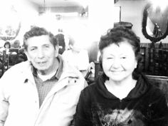 Mis papas en black n' white :p