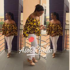 BellaNaija Weddings presents – Vol. 148 – The Latest Aso Ebi Styles Short African Dresses, African Print Dresses, African Fashion Dresses, African Outfits, Ankara Peplum Tops, Ankara Blouse, African Print Clothing, African Print Fashion, African Tops