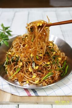 Korean Side Dishes, Fast Healthy Meals, Easy Meals, Banchan Recipe, Cooking Recipes For Dinner, K Food, Vegetarian Recipes, Healthy Recipes, Asian Recipes