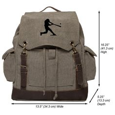 online shopping for World War 2 Military Jeep Star Rucksack Backpack w/Leather Straps Olive & Black from top store. See new offer for World War 2 Military Jeep Star Rucksack Backpack w/Leather Straps Olive & Black Camping And Hiking, Hiking Gear, Camping Gear, Backpack Camping, Day Backpacks, Rugged Style, Man Style, Vintage Canvas, Rucksack Backpack