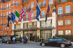 8 of the World's Most Iconic Hotels  Claridge's, London This Mayfair mainstay has been the hotel choice of politicians, celebrities, and royals for more than 100 years. The Art Deco masterpiece has welcomed such guests as Cary Grant, Katharine Hepburn, and the Queen Mother. In 1945, Crown Prince Alexander II of Yugoslavia was born in room 212, and, that same year, Winston Churchill stayed in the hotel following his election defeat. From $598/night; claridges.co.uk