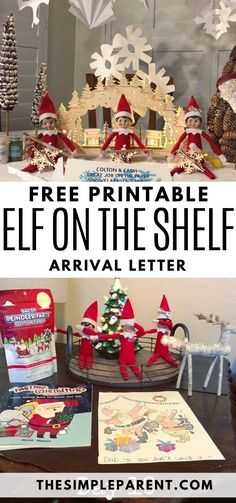 New Photographs New Snap Shots Elf on the Shelf Letter: Printable Arrival & Goodbye Letters Tip. Suggestions New Snap Shots Elf on the Shelf Letter: Printable Arrival & Goodbye Letters Tips Say Welcome Bac Elf On The Shelf, The Elf, Elf Goodbye Letter, Christmas Elf, Christmas Ornaments, Family Christmas, Christmas Ideas, Christmas Crafts, Christmas Decorations