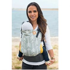 - Tula Toddler Carrier (Love the arrow print) TULA Baby Carriers Ergonomic Baby Carrier, Agatha, Best Baby Carrier, Thing 1, Barnet, Small Baby, Baby Swaddle, Baby Wearing, Tulum