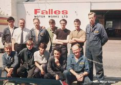 Do you recognise anyone in this photo? Falles staff - 1960's.