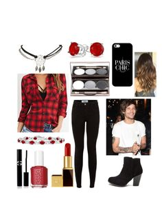 """""""Paris with Louis"""" by sarahorantomlinson ❤ liked on Polyvore featuring Forever 21, Wet Seal, Tom Ford, Bling Jewelry, Essie, Sisley Paris and Casetify"""