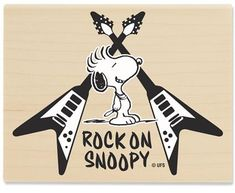 Rock On Snoopy