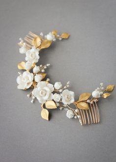SPIRIT floral bridal headpiece 6