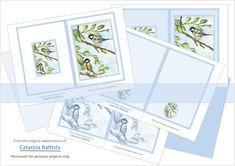 Birds Journal Kit. TIT (Mésange). Digital Journal 5x7. Planner, Junk Journal. Ephemera, Printable Paper, Envelopes, Cards. JN002 Journal Pages, Junk Journal, Make Your Own Card, Digital Journal, Scrapbooking, Kit, Printable Paper, Cover Pages, Ephemera