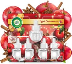 Mist Diffuser, Oil Warmer, Scented Oils, House Smells, Natural Essential Oils, Cinnamon Apples, Air Freshener, Red Apple, Smell Good