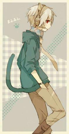 Read Nam Neko from the story Picture Town by Twoface_G (Dâu) with 341 reads. Anime Neko, Manga Anime, Anime Cat Boy, Manga Kawaii, Neko Boy, Art Manga, Hot Anime Guys, Cute Anime Boy, Manga Boy