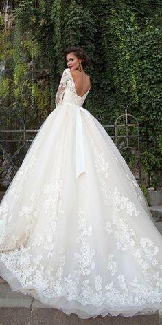 milla nova 2016 bridal wedding dresses / www. milla nova 2016 bridal wedding dresses / www. Mila Nova Wedding Dress, Bridal Wedding Dresses, Dream Wedding Dresses, Wedding Attire, Poofy Wedding Dress, Tulle Wedding, Sparkly Wedding Gowns, 2017 Bridal, Modest Wedding