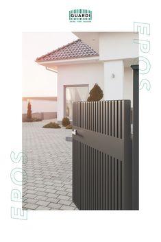 Hochwertig, reduziert, unverwechselbar – das ist unser EPOS! Ein Gartenzaun aus Aluminium, der seinesgleichen sucht! Sowohl als Sichtschutz, als auch als Gartenbegrenzung perfekt geeignet. Zaunqualität auf höchstem Niveau! Pergola, Garage Doors, Houses, Outdoor Structures, Outdoor Decor, Home Decor, Split Rail Fence, Aluminum Fence, Fence Ideas