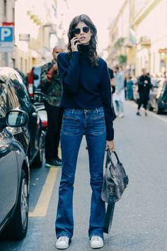 Street looks à la Fashion Week printemps-été 2016 spécial iPhone