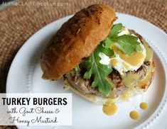 ... goat cheese and honey mustard to kick up the flavor. #grilling #recipe