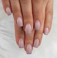 70 Wedding Natural Gel Nails Design Ideas for Bride 2019 Nails Art Nails Nail designs Cute Nails, Pretty Nails, My Nails, Classy Gel Nails, S And S Nails, Kiss Nails, Neon Nails, Yellow Nails, Hair And Nails