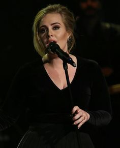 Adele performing at 'Che Tempo Che Fa', Italy