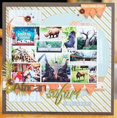 Layout: African Safari