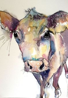 Damson (2016) Watercolours by Art by Sarah White   Artfinder