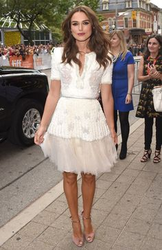 Keira Knightley at the Toronto Film Festival