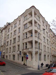 Praha, Neklanova 30 (1914, arch. Josef Chochol), fot. PK