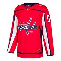 Adidas Washington Capitals Red Authentic Custom Jersey  249.99 Adidas  Originals Mens 1e330f013
