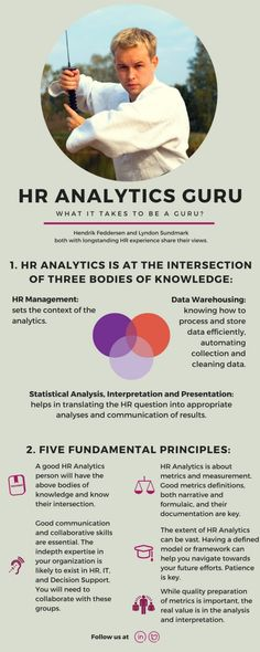 What it takes to be a HR Analytics Guru? (infographic)