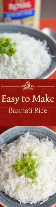Basmati rice is the most fragrant, longest-grain rice on the planet and is popular worldwide! See how easy it is to make with our recipe.