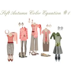 Soft Autumn Color Equations #1 by april-ajayya-godsey on Polyvore featuring Warehouse, FABIANA FILIPPI, Splendid, maurices, Dorothy Perkins, Danny & Nicole, Go Silk, Vivienne Westwood Anglomania, Sugarhill Boutique and Reiss