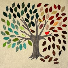 Family Tree Wall Hanging - I love this quilt! I've always wanted to make one like it