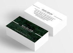 Wildlife Business Card by vazon on @creativemarket