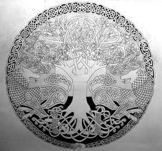 Two Wolves Sigil (outline) by *Tattoo-Design on deviantART