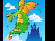 El dragón - YouTube Youtube, Disney Characters, Fictional Characters, Castles, Short Stories, Dragons, Songs, Art, Blue Prints
