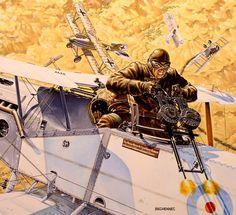 Bristol Fighter Australian Palestine 1918 - Daniel Bechennec.jpg (512×468)