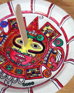 Activities: Make an Aztec Sundial