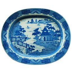 Large Canton Platter 1880 | 1stdibs.com