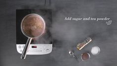 Basil Tea with by Chef Ranveer Brar Basil Tea, Tea Powder