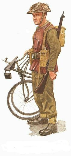 BSA Airborne bycicle - pin by Paolo Marzioli