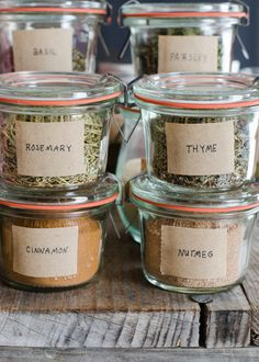 How to Stock a Basic Spice Cabinet