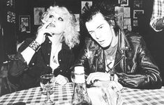 Sid Vicious and Nancy Spungen...one of the greatest, most twisted love stories of all time.
