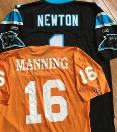 Cam Newton / Peyton Manning Jerseys
