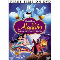 Aladdin (Two-Disc Platinum Edition) -- $52?!?  What the hell, Amazon.com??  Is this DVD made of gold?  P.S.  I remember seeing this movie in high school.