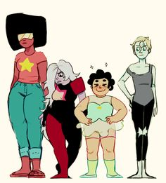 """Confess your opinions on the Cartoon Network show """"Steven Universe"""" Steven Universe Fusion, Pearl And Amethyst Fusion, Desenhos Cartoon Network, Lapidot, Universe Art, Save The Day, Digital Illustration, Adventure Time, Fangirl"""