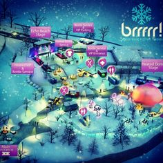 Festival map Main Entrance, Winter Wonderland, Park, Beach, Music, Instagram Posts, Movie Posters, Travel, Voyage